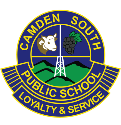 Camden South Public School logo